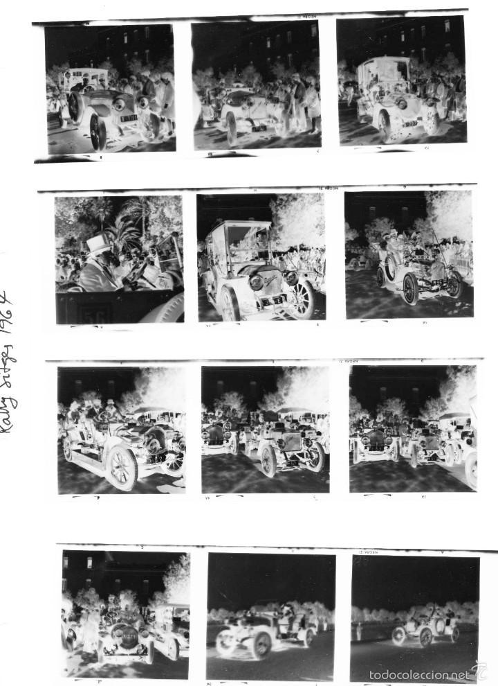 Fotografía antigua: 44 Fotos del Rally de coches antiguos de Sitges, años 1964, 1967 y 1971. Negativos en color y BN - Foto 27 - 60541827