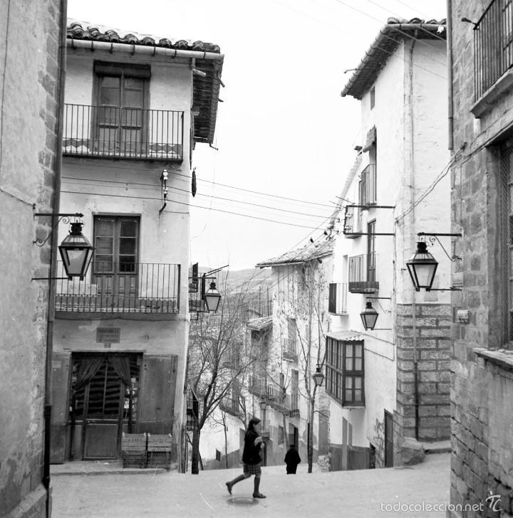 7 FOTOGRAFÍAS (NEGATIVOS) DE MORELLA, CASTELLÓN. 1967. GRAN CALIDAD. (Fotografía - Artística)