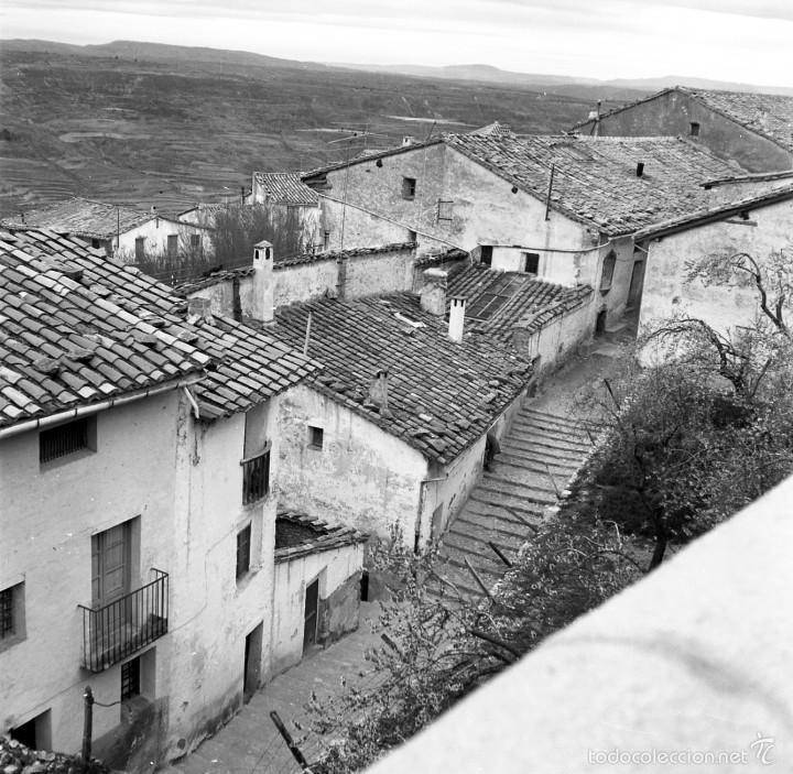 Fotografía antigua: 7 fotografías (negativos) de Morella, Castellón. 1967. Gran calidad. - Foto 2 - 60723099