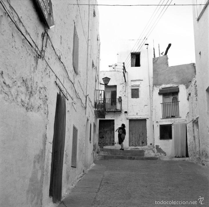 Fotografía antigua: 7 fotografías (negativos) de Morella, Castellón. 1967. Gran calidad. - Foto 3 - 60723099