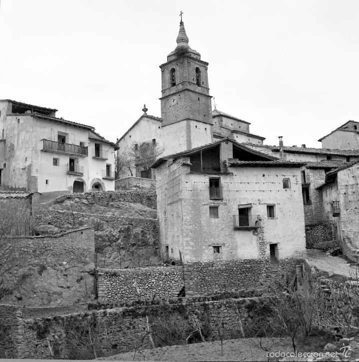 Fotografía antigua: 7 fotografías (negativos) de Morella, Castellón. 1967. Gran calidad. - Foto 4 - 60723099