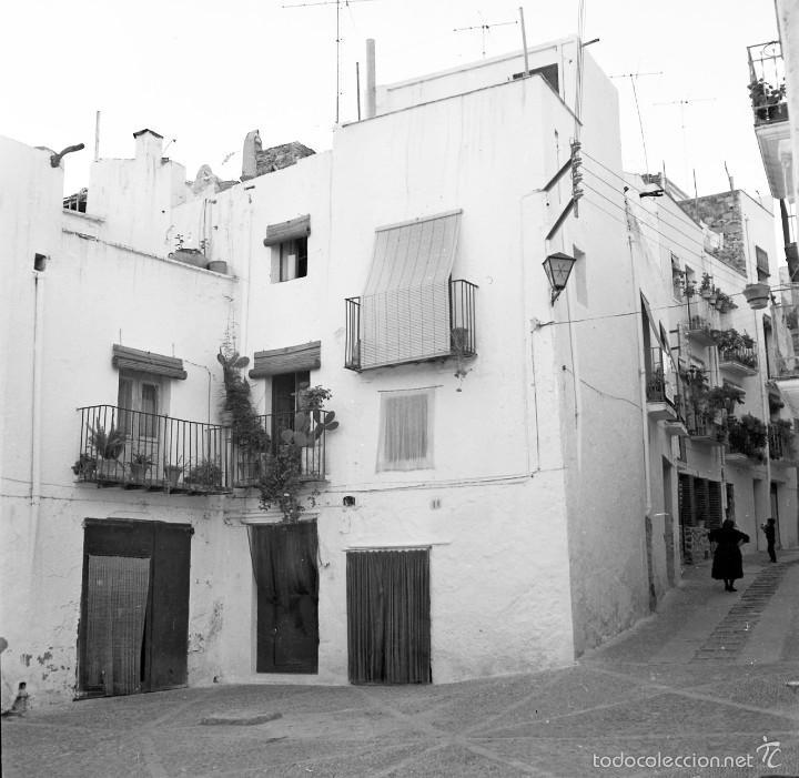 Fotografía antigua: 7 fotografías (negativos) de Morella, Castellón. 1967. Gran calidad. - Foto 6 - 60723099