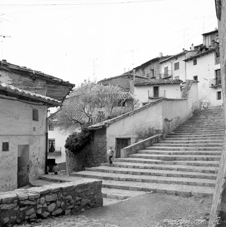 Fotografía antigua: 7 fotografías (negativos) de Morella, Castellón. 1967. Gran calidad. - Foto 7 - 60723099