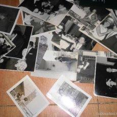 Fotografía antigua: ANTIGUAS FOTOGRAFIAS LOTE 15 FOTOS CARPETA BENIDORM GESTORIA. Lote 60969643
