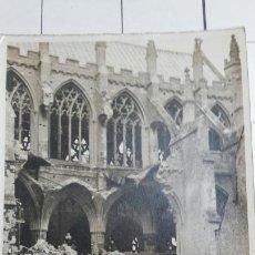 Fotografía antigua: ANTIGUA FOTO SOBRE LA DESTRUCCIÓN DE LA GUERRA 1940. Lote 61031565