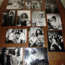 Fotografía antigua: 12 FOTOS ORIGINALES (SET COMPLETO) DEL FILM *MI MARIDO NO FUNCIONA*, CON NADIUSKA. MIDEN 24 X 18 CM.. Lote 61140647