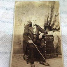 Fotografía antigua: CABALLERO DE ÉPOCA. Lote 61554088