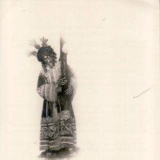 Fotografía antigua: SEMANA SANTA SEVILLA - ANTIGUA FOTOGRAFIA JESUS GRAN PODER CON OBITO RECORDATORIO FALLECIMIENTO 12X8. Lote 62047372