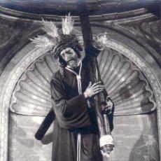 Fotografía antigua: SEMANA SANTA SEVILLA - ANTIGUA FOTOGRAFIA JESUS GRAN PODER 10X8 CM - FOTO LUIS ARENAS. Lote 62047520