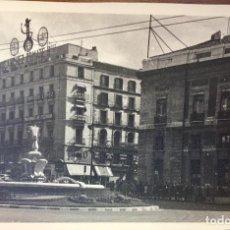 Fotografía antigua: MADRID 1940 ANTIGUA PLAZA DEL SOL CALLE CARRETAS MAQUINAS DE ESCRIBIR METRO MERCERIA SANCHEZ ROMATE. Lote 62190284