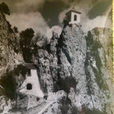 Fotografía antigua: ALICANTE CASTELL DE GUADALEST ALICANTE FOTO POSTAL ALFONSO SANCHEZ. Lote 62249192