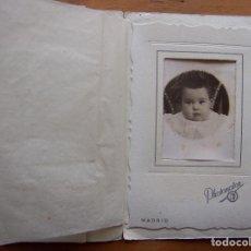 Fotografía antigua: CURIOSA Y BONITA FOTOGRAFÍA CON ESTUCHE DE PHOTOMATON DE LOS AÑO 30.. Lote 62295268