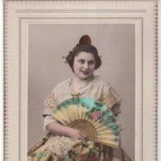 Fotografía antigua: ANTIGUA FOTOGRAFÍA CON TRAJE TÍPICO REGIONAL DE VALENCIA. AÑOS 30 . Lote 63181776