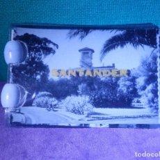 Fotografía antigua: FOTOGRAFIAS EN LIBRILLO - ACORDEON - 9 VISTAS - EDICIONES DARVI - SANTANDER - 7 X 5 CM. Lote 63703027