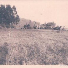 Fotografía antigua: FOTOGRAFIA ANTIGUA DE ALCALA LA REAL - JAEN, RECOLECCION TRILLA 11*8 CM. Lote 64100435