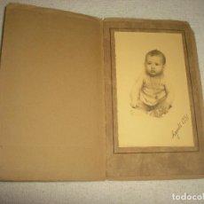 Fotografía antigua: ANTIGUA FOTO DE BEBE . FOTO HERMES 1931. Lote 64901859