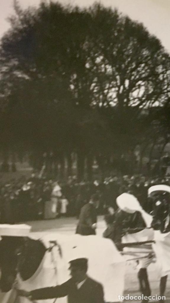 Fotografía antigua: San Sebastián carnavales 1900 fot Galarza carroza 18x24cms - Foto 7 - 64935663