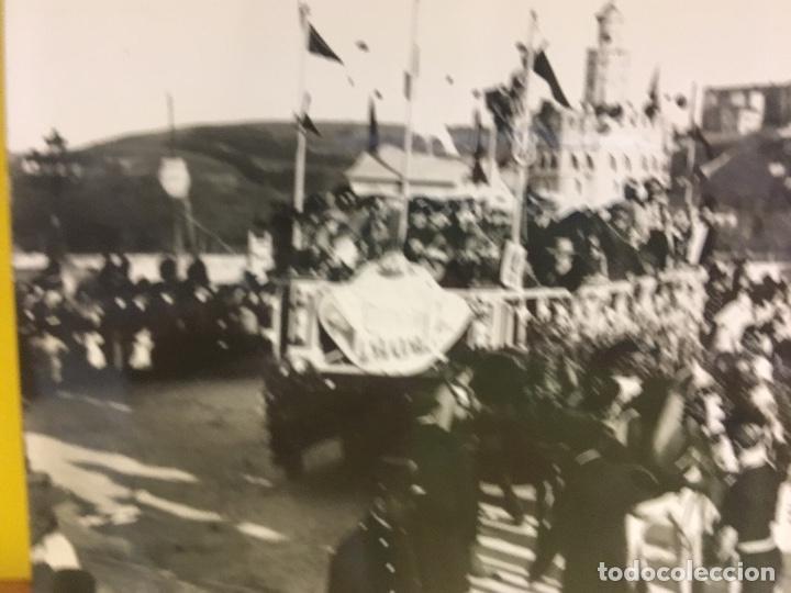Fotografía antigua: San Sebastián carnavales 1900 fot Galarza carroza 18x24cms - Foto 10 - 64935663