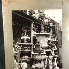 Fotografía antigua: FOTOGRAFIA PULGAS PUCES ANTIQUITES ANTIGUEDADES SAINT OUEN PARIS BLANCO Y NEGRO 40X26,5CMS. Lote 65657930