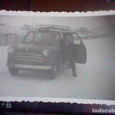 Photographie ancienne: FOTO FOTOGRAFIA ANTIGUA PARTICULAR 1956 MIRANDA EBRO COCHE CLASICO BURGOS. Lote 65860186