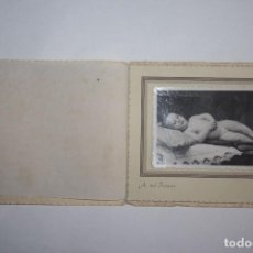 Fotografía antigua: FOTO ANTIGUA DE BEBÉ - A. DEL FRESNO. Lote 67008614