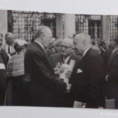 Fotografía antigua: FOTO ORIGINAL DE PRENSA DEL PRIMERO BUNDESKANZLER DE ALEMANIA: KONRAD ADENAUER . Lote 67085449