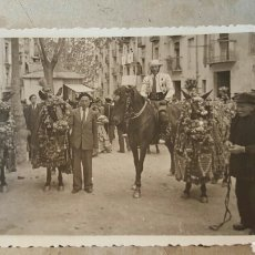Fotografía antigua: ALCOY ALICANTE MOROS Y CRISTIANOS 1940. Lote 67175647