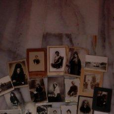 Fotografía antigua: LOTE DE 22 FOTOS ANTIGUAS Y 5 PORTALES. Lote 67486025