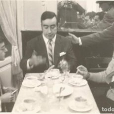 Fotografía antigua: ** P218 - FOTOGRAFIA - GRUPO DE AMIGOS TOMANDO CAFÉ - 18 X 12 CM. - RF. FA0. Lote 67993441