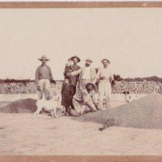 Fotografia antiga: F- 2964. FOTOGRAFIA ORIGINAL FAMILIA FINALES S.XIX. MAHON, MENORCA.. Lote 68225109
