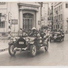 Fotografía antigua: (ALB-TC-5) FOTOGRAFIA COCHES ANTIGUOS RALLI RALLY PEÑISCOLA ???? BANCO DE VALENCIA. Lote 68279465