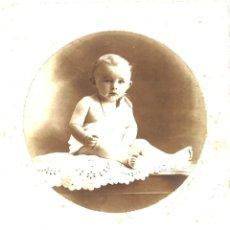 Fotografía antigua: FOTO DE ESTUDIO DE NIÑO. LUXEUIL LES BAINS. FRANCIA. Lote 68708445
