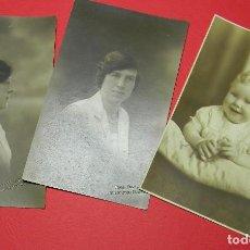 Fotografía antigua: ORIGINALES - JUEGO DE FOTOGRAFIAS - AÑOS 30 - ENVIO DE RECUERDO A PILOTO DE LA RAF. Lote 68769669