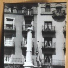 Fotografía antigua: TERUEL - PLAZA DEL TORICO. Lote 110437739