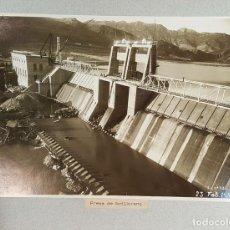 Fotografía antigua: MEMORIA FOTOGTRAFICA DE LAS OBRAS HIDROGRAFICAS DE CATALUÑA. 22 FOTOGRAFIAS. 1930-1954.. Lote 69831073