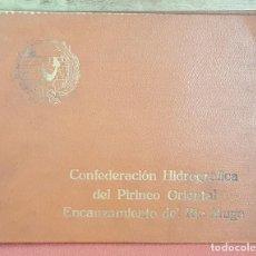 Fotografía antigua: MEMORIA FOTOGRAFICA DE LAS OBRAS DE ENCAUZAMIENTO DEL RIO MUGA. GERONA. 1940-1942. . Lote 69832297