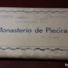 Fotografía antigua: RECUERDO DEL MONASTERIO DE PIEDRA 1955 EDICIONES ARRIBAS. Lote 71081305
