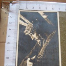 Fotografía antigua: SEMANA SANTA SEVILLA - FOTOGRAFIA RECORDATORIO DE CULTOS DE JESUS DE LAS PENAS DE SAN ROQUE 1961. Lote 71154621