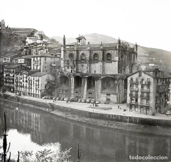 Fotografía antigua: 4 Fotos (negativos de 53x53mm) de Ondarroa, 1964. Excelente calidad. Vizcaya. Euskalerría - Foto 2 - 71214629