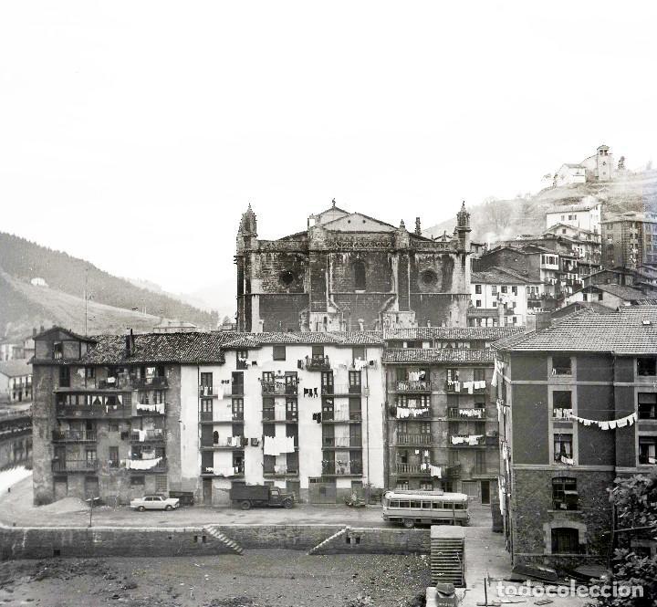 Fotografía antigua: 4 Fotos (negativos de 53x53mm) de Ondarroa, 1964. Excelente calidad. Vizcaya. Euskalerría - Foto 3 - 71214629