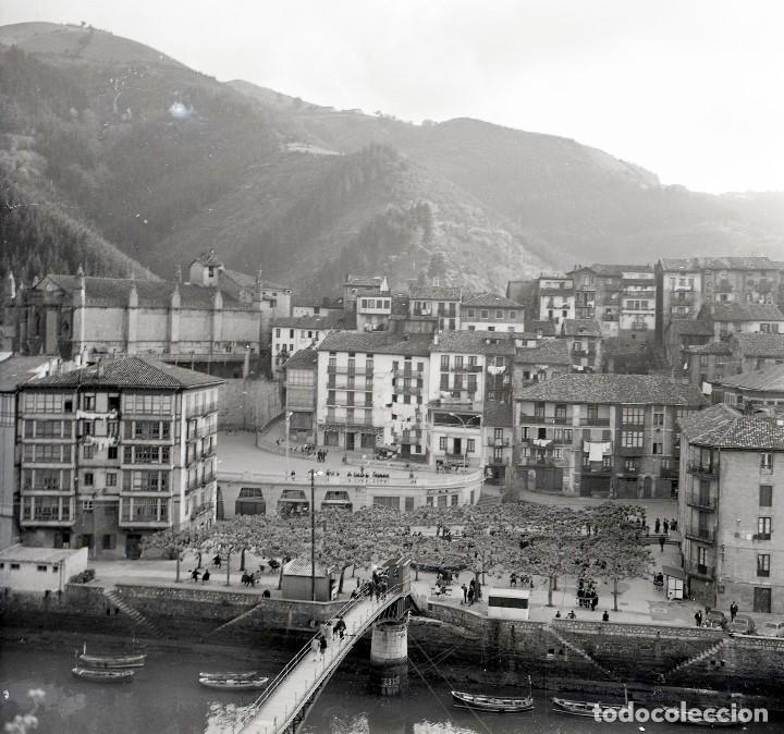 Fotografía antigua: 4 Fotos (negativos de 53x53mm) de Ondarroa, 1964. Excelente calidad. Vizcaya. Euskalerría - Foto 4 - 71214629