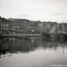 Fotografía antigua: 1 FOTO (NEGATIVO 53X53MM) DE LEQUEITIO, 1964. EXCELENTE CALIDAD. LEKEITIO. VIZCAYA. EUSKALERRÍA. Lote 71215069