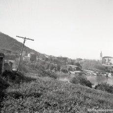 Fotografía antigua: 2 FOTOS (NEGATIVOS DE 53X53MM) DE MUNDAKA, 1964. BUENA CALIDAD. VIZCAYA. EUSKALERRÍA. Lote 71215353