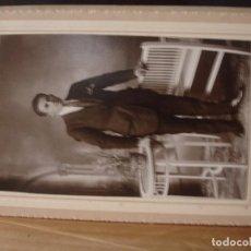 Fotografía antigua: FOTO LUX GERONA - RETRATO DE CABALLERO - PORTAL DEL COL·LECCIONISTA *****. Lote 72005983