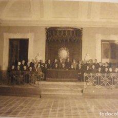 Fotografía antigua: ANTIGUA GRAN FOTOGRAFIA FOTO DE POLITICOS O INTELECTUALES AÑOS 20 - 30 ?. Lote 73303467