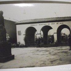Fotografía antigua: ANTIGUA FOTOGRAFIA CENTRE EXCURSIONISTA CESAR AUGUST TORRAS O TORRES TREVALLS MANUALS DE GENT DE MAR. Lote 73304219