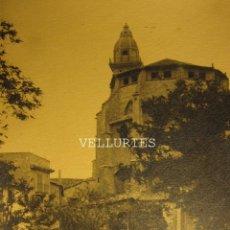 Fotografia antiga: FOTOGRAFIA MALLORCA IGLESIA SANT FRANCESC. ANTIGUA. 17,8 X 13 CM. Lote 73436335