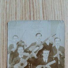 Fotografía antigua: ANTIGUA FOTOGRAFIA, ORQUESTA GRUPO DE MUSICA. Lote 73674515