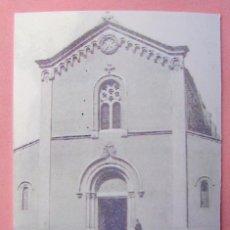 Fotografía antigua: FOTOGRAFIA N.TRA SRA DE LA SALUT SABADELL MIDE 8 X 5 CM. Lote 73872567