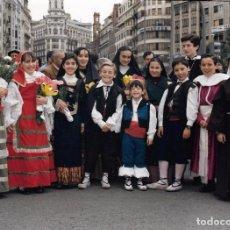 Fotografía antigua: *** AG285 - FOTOGRAFIA - GRUPO DE NIÑOS DISFRAZADOS - 20 X 15 CM.. Lote 73955907